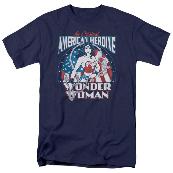Dc American Heroine Short Sleeve Adult T-Shirt
