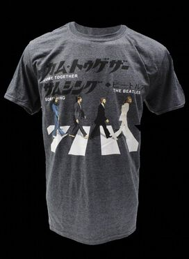 Beatles Abbey Road Kanji T-Shirt