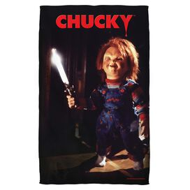 Childs Play 3 Knife Towel White