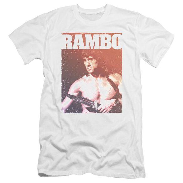 Rambo Iii Creep Premuim Canvas Adult Slim Fit