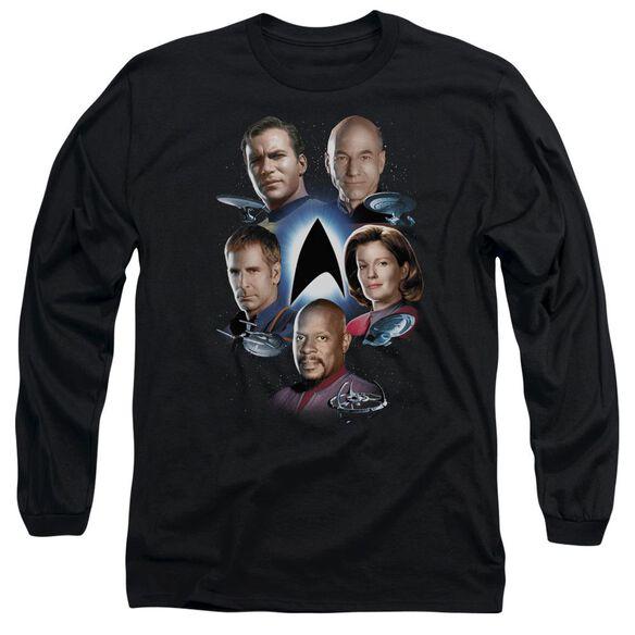 Star Trek Starfleets Finest Long Sleeve Adult T-Shirt