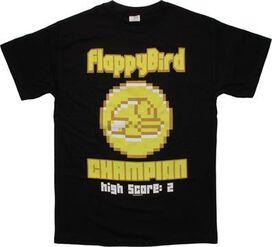 Flappy Bird Champion T-Shirt