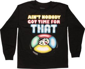 Simon Says Ain't Nobody Have Time LS Youth T-Shirt