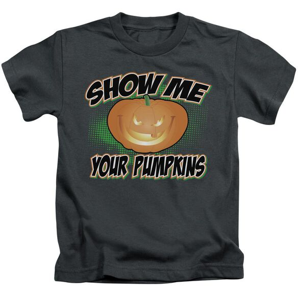Show Me Short Sleeve Juvenile Charcoal T-Shirt