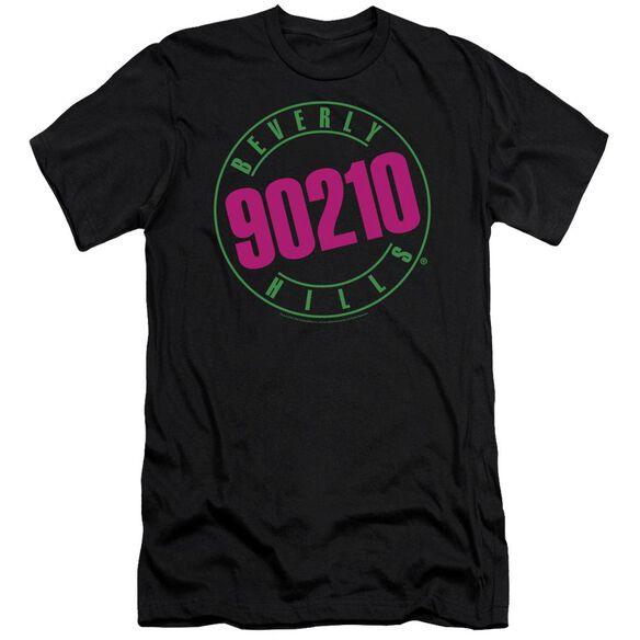 90210 NEON - S/S ADULT 30/1 - BLACK T-Shirt