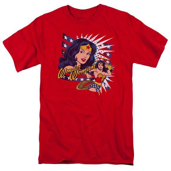Dco Pop Art Wonder Short Sleeve Adult T-Shirt