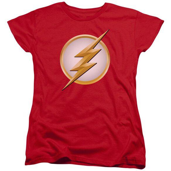 Flash New Logo Short Sleeve Womens Tee T-Shirt