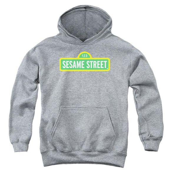 Sesame Street Logo Youth Pull Over Hoodie Athletic