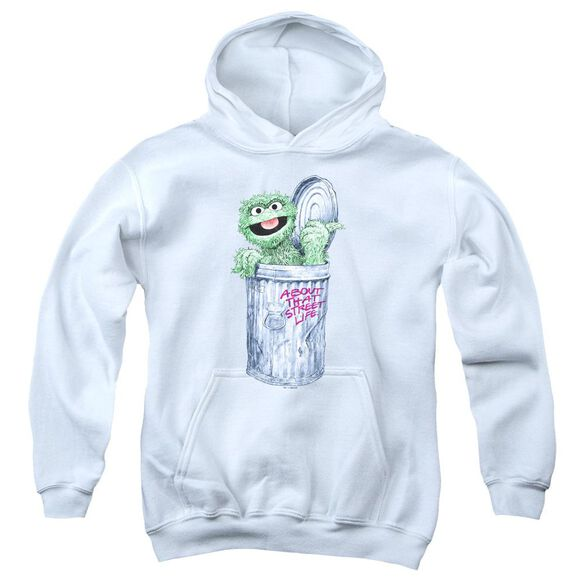 Sesame Street About That Street Life Youth Pull Over Hoodie