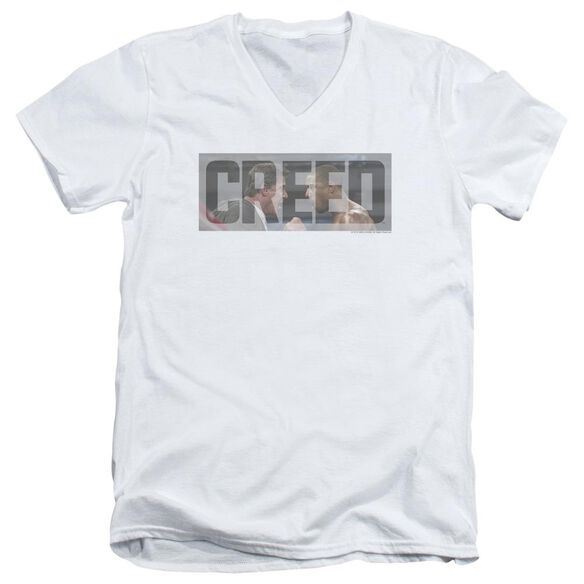 Creed Pep Talk Short Sleeve Adult V Neck T-Shirt