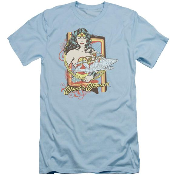 Dc Invisible Jet Short Sleeve Adult Light T-Shirt