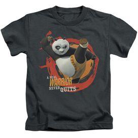 Kung Fu Panda Real Warrior Short Sleeve Juvenile T-Shirt