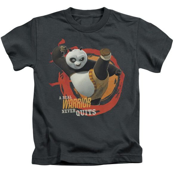 Kung Fu Panda Real Warrior Short Sleeve Juvenile T-Shirt