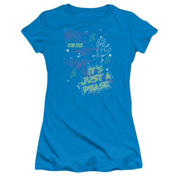 St Original Just A Phase Short Sleeve Junior Sheer T-Shirt