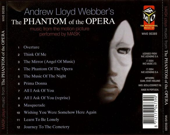Phantom Of The Opera(Mask
