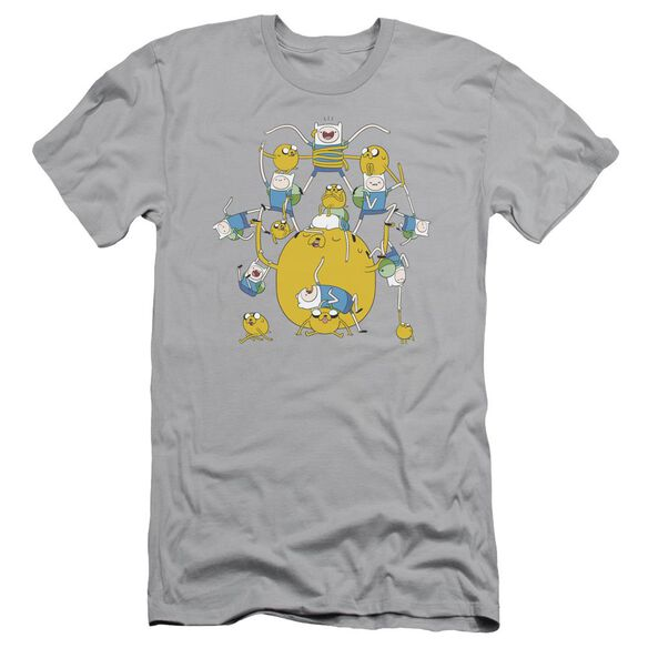 Adventure Time Finn&Jake Group Short Sleeve Adult T-Shirt