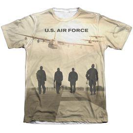 Air Force Long Walk Adult Poly Cotton Short Sleeve Tee T-Shirt