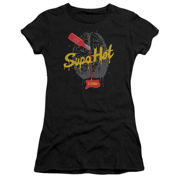 Izombie Supa Hot Short Sleeve Junior Sheer T-Shirt