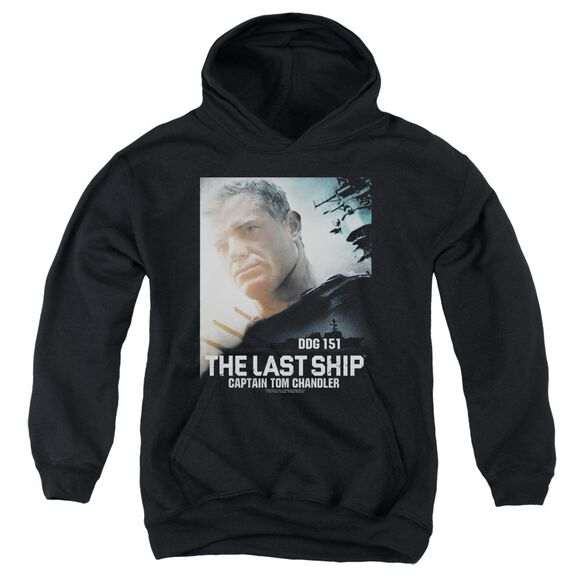 Last Ship Captain Youth Pull Over Hoodie