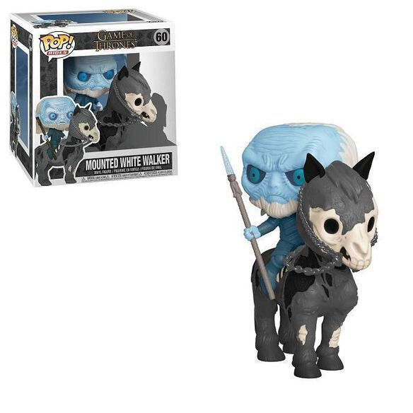 Funko Pop! Rides: Game of Thrones - White Walker [on Horse]