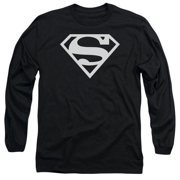 Superman Logo Long Sleeve Adult T-Shirt