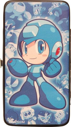 Mega Man Chibi Pose Clutch Wallet