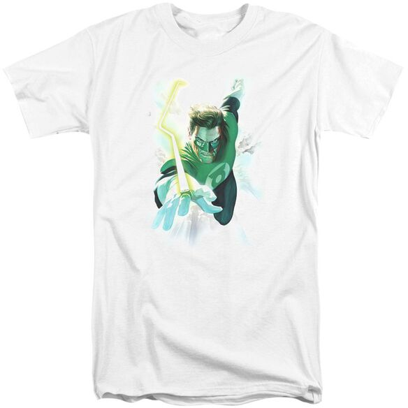 Green Lantern Clouds Short Sleeve Adult Tall T-Shirt
