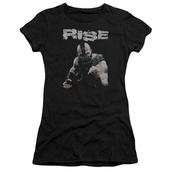 Dark Knight Rises Rise Short Sleeve Junior Sheer T-Shirt