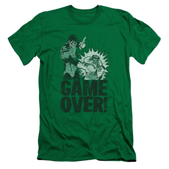Lantern Game Over Short Sleeve Adult Kelly T-Shirt