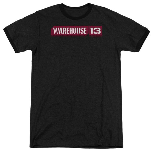Warehouse 13 Logo Adult Heather Ringer