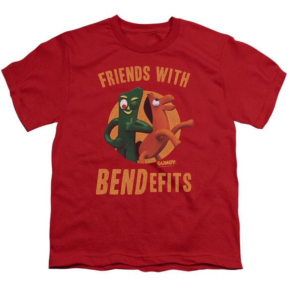 Gumby Bendefits Short Sleeve Youth T-Shirt