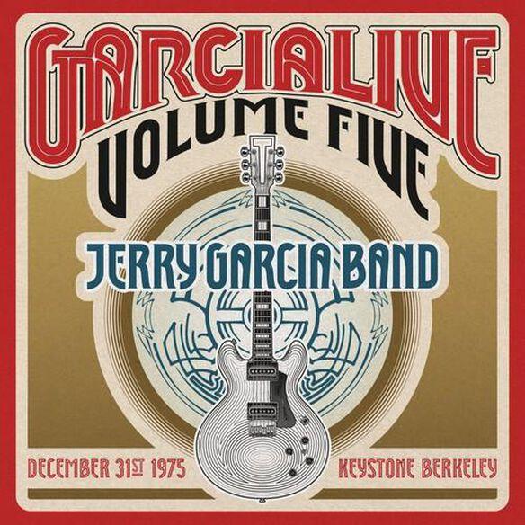 Jerry Garcia - Garcialive Vol. 5 - December 31st 1975 Keystone Berkeley