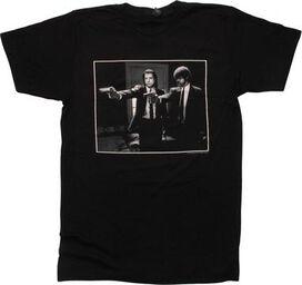Pulp Fiction Jules and Vincent T-Shirt Sheer