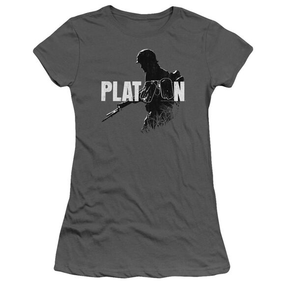 Platoon Shadow Of War Short Sleeve Junior Sheer T-Shirt