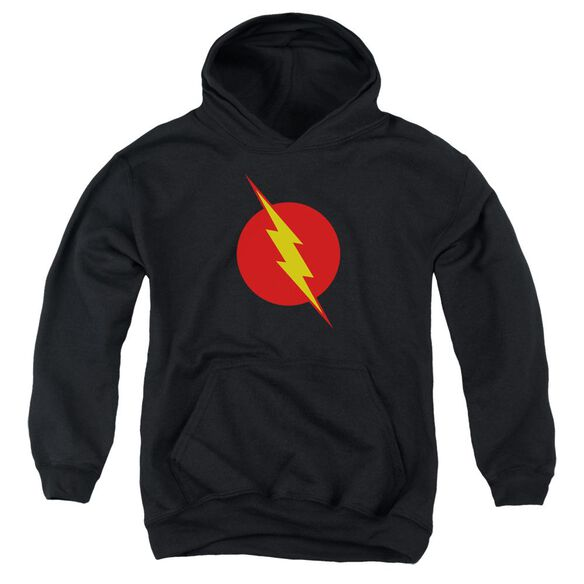 Jla Reverse Flash Youth Pull Over Hoodie