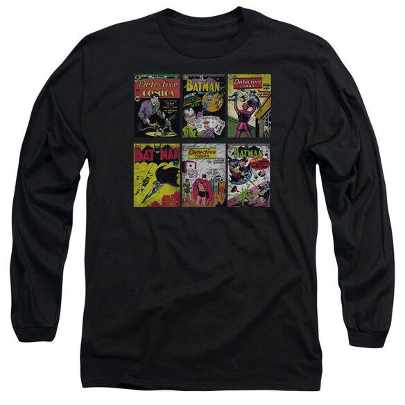 BATMAN BM COVERS- L/S ADULT T-Shirt