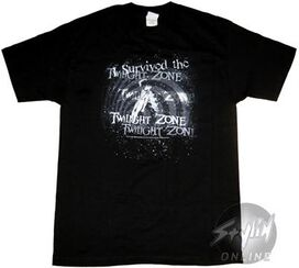 Twilight Zone Survived T-Shirt
