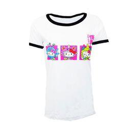 Hello Kitty Kaiju Juniors T-Shirt
