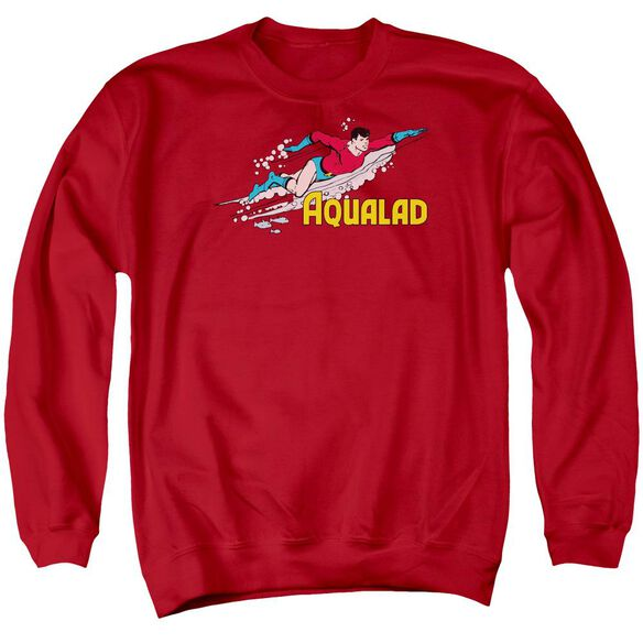 Dc Aqualad Adult Crewneck Sweatshirt