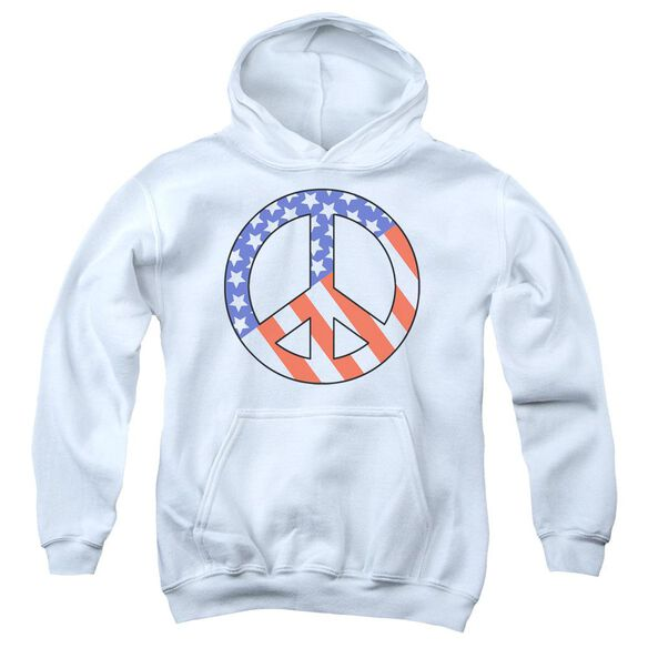 Patriot Peace Youth Pull Over Hoodie