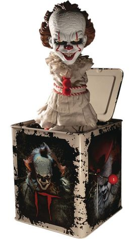 IT (2017) - Pennywise 14-Inch Burst A Box