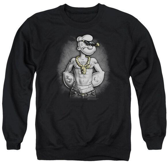 Popeye Hardcore Adult Crewneck Sweatshirt