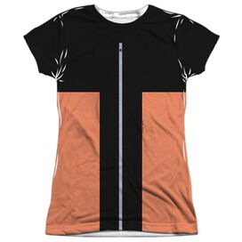Naruto Shippuden Costume Short Sleeve Junior Poly Crew T-Shirt