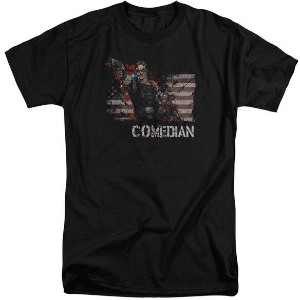 Watchmen Comedian Short Sleeve Adult Tall T-Shirt