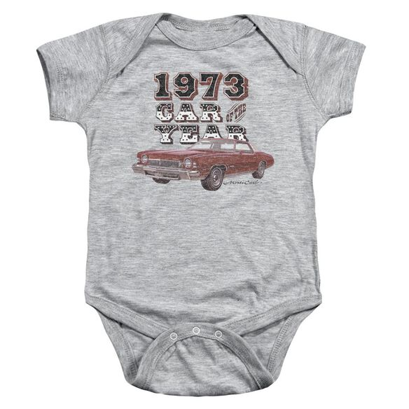 Chevrolet Car Of The Year Infant Snapsuit Athletic Heather