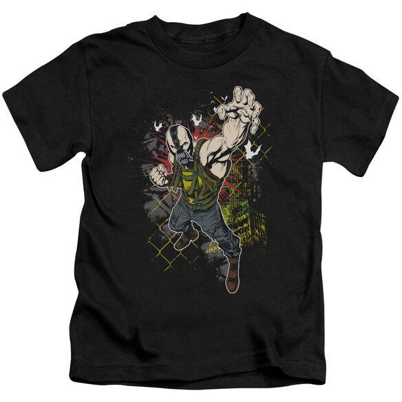 Dark Knight Rises Bane Will Crush Short Sleeve Juvenile Black Md T-Shirt