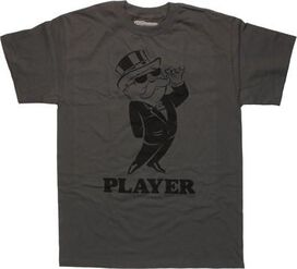 Monopoly Rich Uncle Pennybags Player T-Shirt