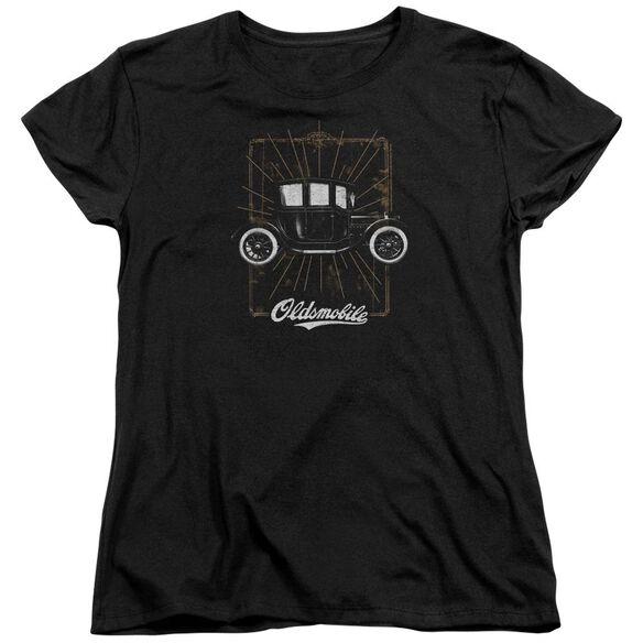 Oldsmobile 1912 Defender Short Sleeve Womens Tee T-Shirt