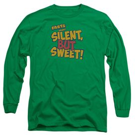 Farts Candy Silent But Sweet Long Sleeve Adult Kelly T-Shirt