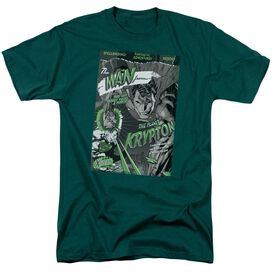 SUPERMAN THE MAN FROM KRYPTON - S/S ADULT 18/1 - CHARCOAL T-Shirt